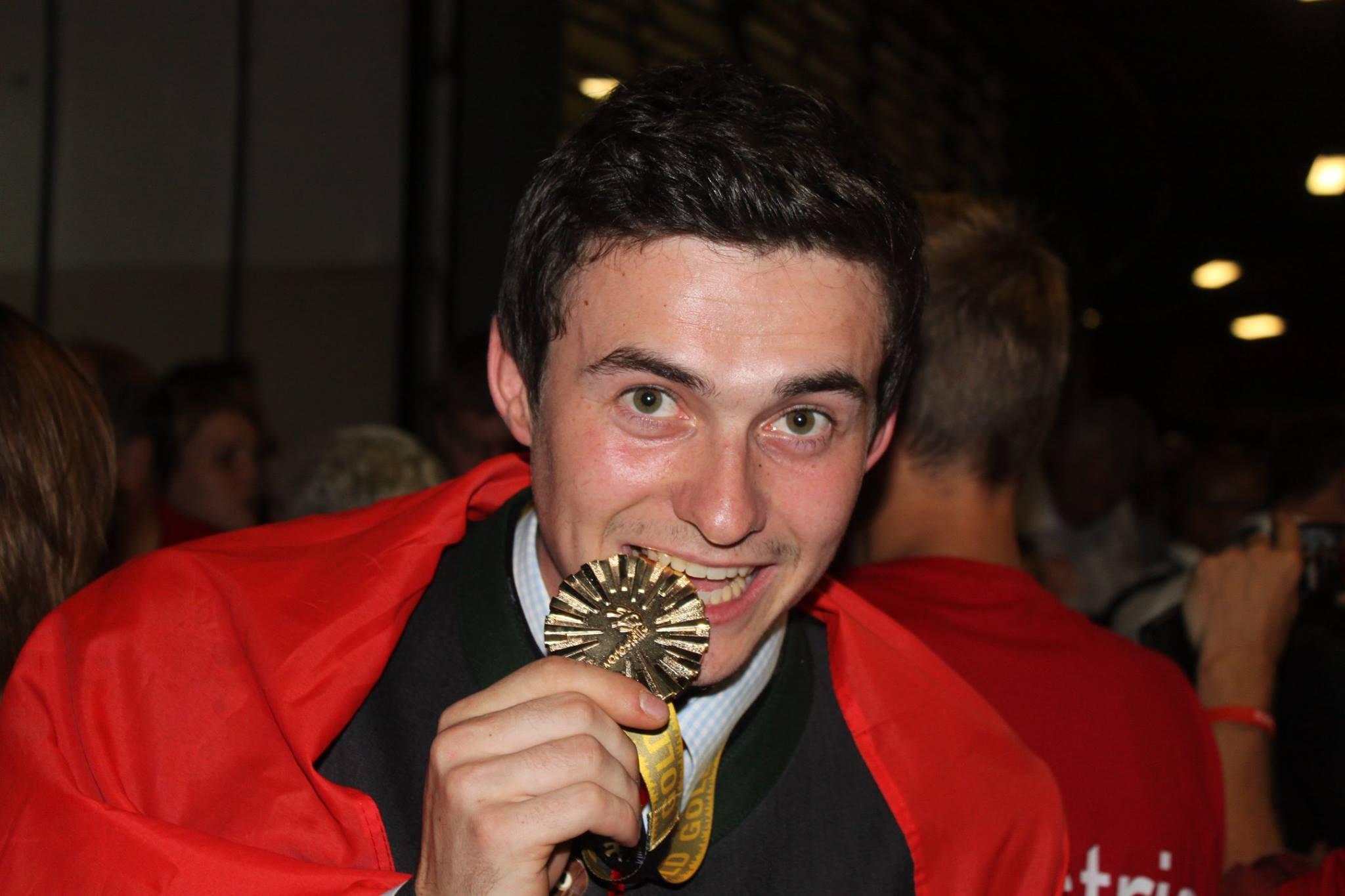 Manfred Zink, der neue Weltmeister der Möbeltischler aus der Steiermark!
